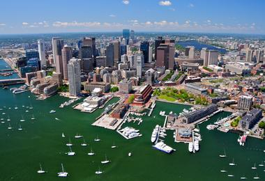 Flights from Washington to Boston from A$153