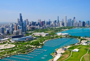 Flights from Washington to Chicago from A$188