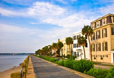 Flights from Washington to Charleston