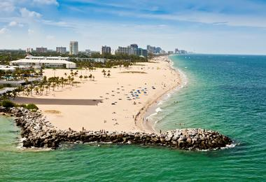 Flights from Washington to Fort Lauderdale from €108
