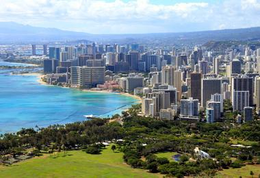 Flights from San Diego to Honolulu