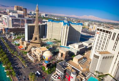 Flights from Washington to Las Vegas from €155