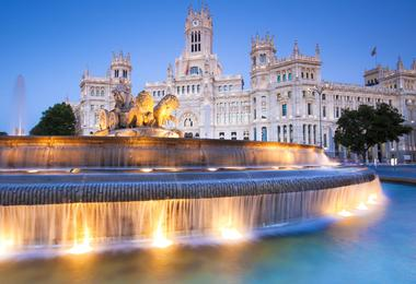 Flights from Washington to Madrid