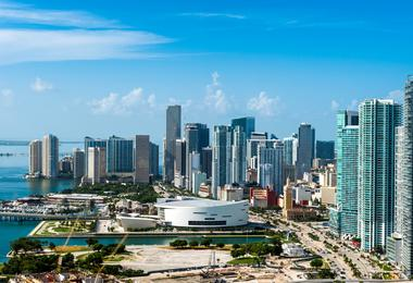 Flights from Washington to Miami from €80