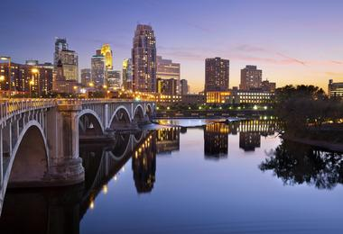 Flights from Washington to Minneapolis from A$135
