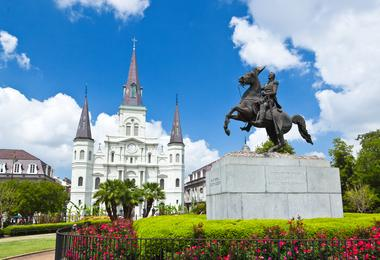 Flights from Washington to New Orleans