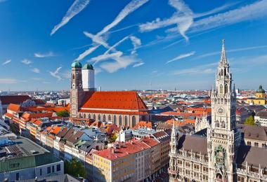 Flights from Boston to Munich