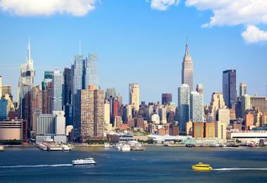 Flights from Washington to New York from €125