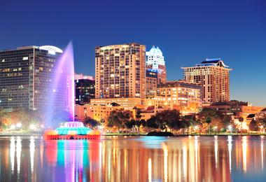 Flights from Washington to Orlando from €90