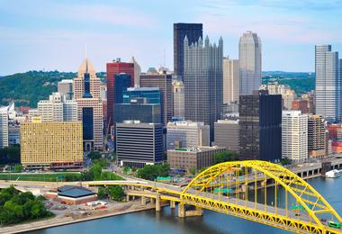 Flights from Boston to Pittsburgh