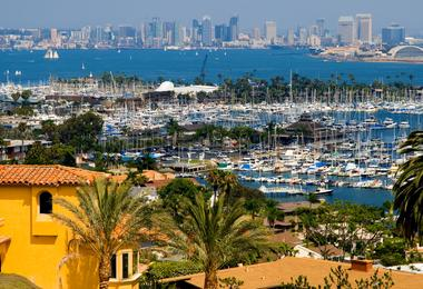 Flights from Boston to San Diego