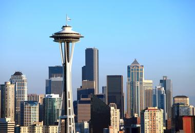 Flights from Washington to Seattle from S$418