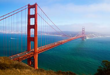 Flights from Washington to San Francisco from S$330