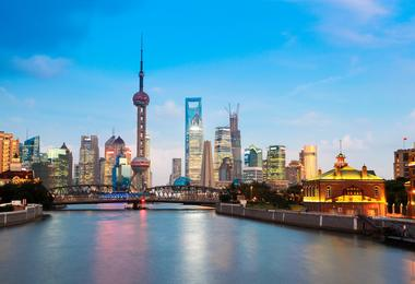 Flights from Boston to Shanghai