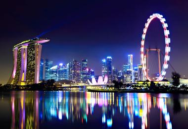 Flights from Washington to Singapore
