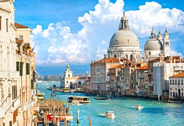 Flights from Boston to Venice