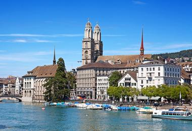 Flights from Boston to Zurich
